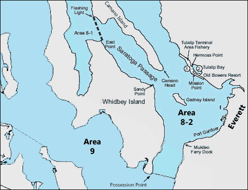 Fishing Area Map